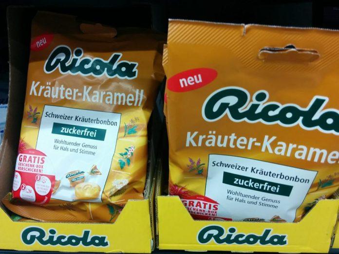 Ricola Kraeuter-Karamell