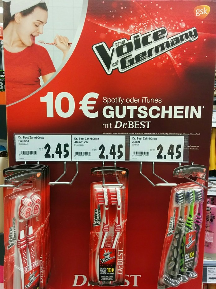 Dr Best Odol-med3 - The Voice of Germany Spotify iTunes