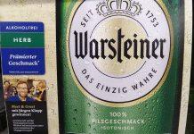 Warsteiner Alkoholfrei - Jüergen Klopp