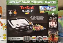 Tefal OptiGrill - Tipp-Kick