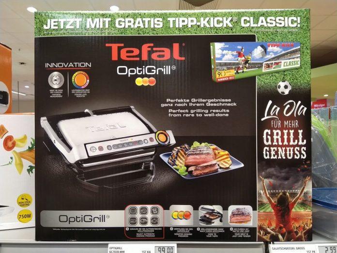 Tefal OptiGrill - Tipp-Kick