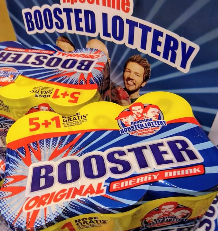 Booster Energy Drink - ApeCrime Boosted Lottery