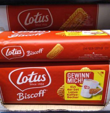 Lotus Biscoff Kaffeebecher