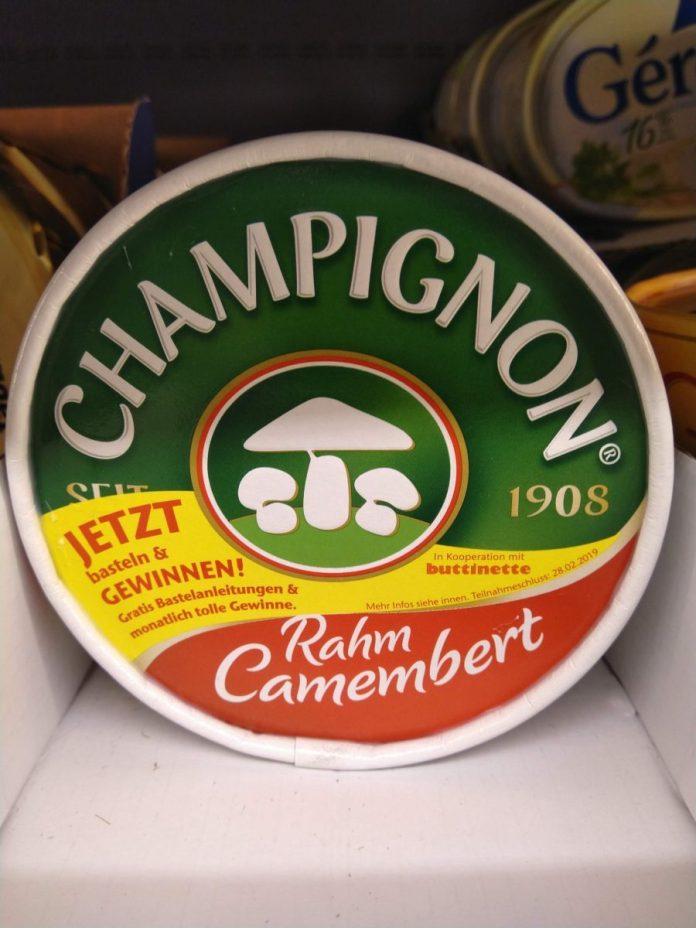 Champignon-Camembert