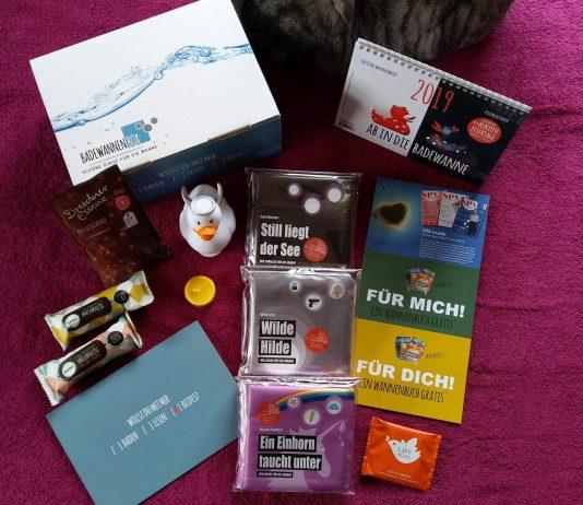 Badewannenbox der Edition Wannenbuch