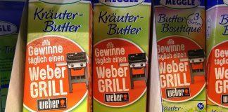 Meggle Butter Gasgrill Weber