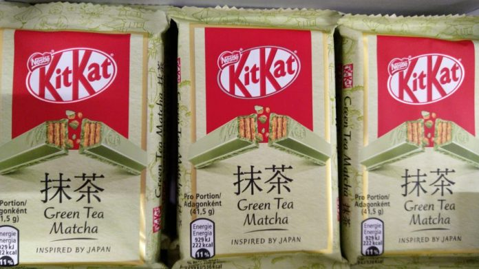 KitKat Green Tea Matcha