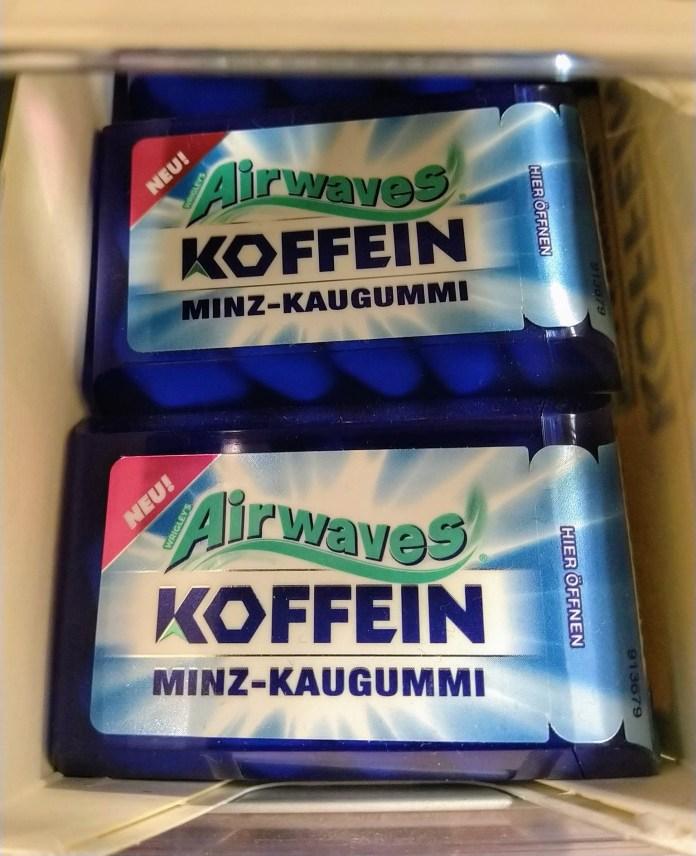 Airwaves Koffein Minz-Kaugummi