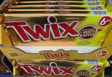 Twix - gratis Kaffee