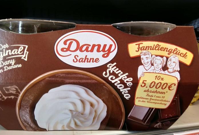 Dany-Sahne Familieglück - Goldener Gewinnsticker