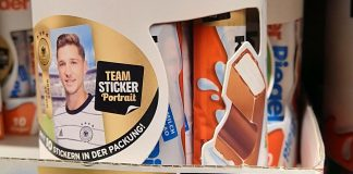 Hanuta, Duplo, Nutella, Kinder: Ferrero Teamsticker gratis zur Fußball EM 2020 - So funktioniert es