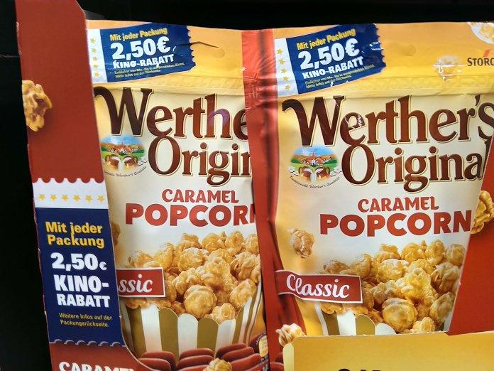 Werthers Original Popcorn Kino-Rabatt