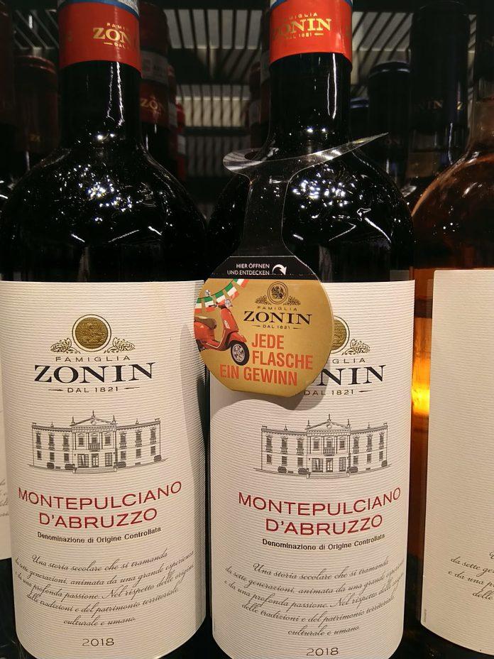 Zonin Wein - Piaggio Vespa gewinnen
