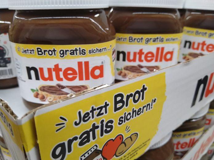 Nutella - gratis Brot sichern