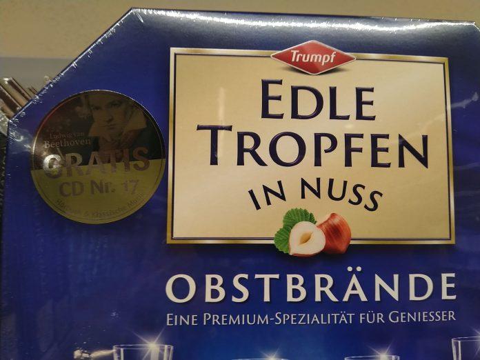Trumpf Edle Tropfen in Nuss: Edle Klänge Klassik CD Nr 17 - Beethoven