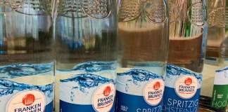 Franken Brunnen Sammelaktion Treueprämie 2020 - Zelt, Rucksack, Federball-Set gratis