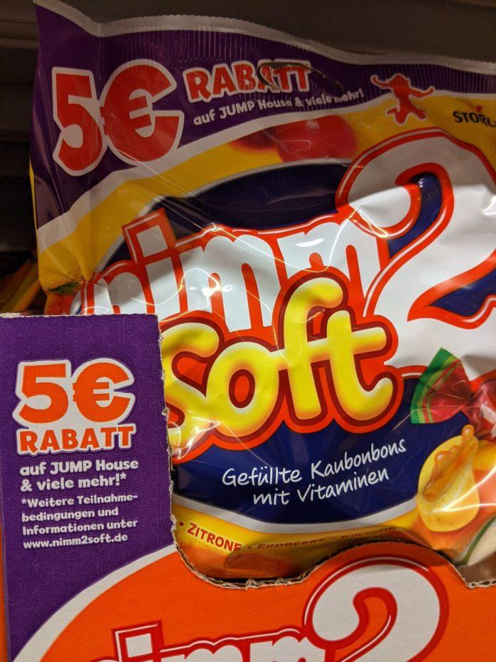 Nimm2 Soft: 5-Euro-Rabatt für Jump House
