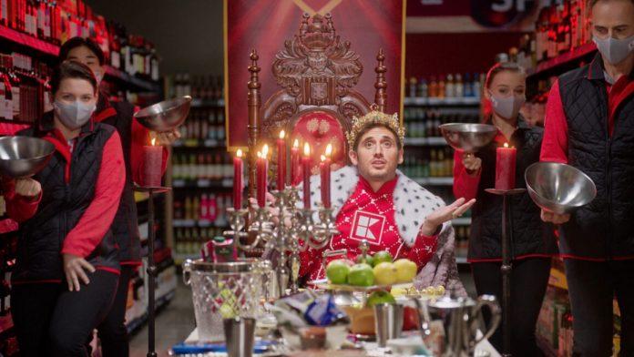 König von Kaufland: Gewinnspiel Millionen Krone - Für 10 Euro einkaufen und 1 Mio Euro gewinnen. Foto: Kaufland