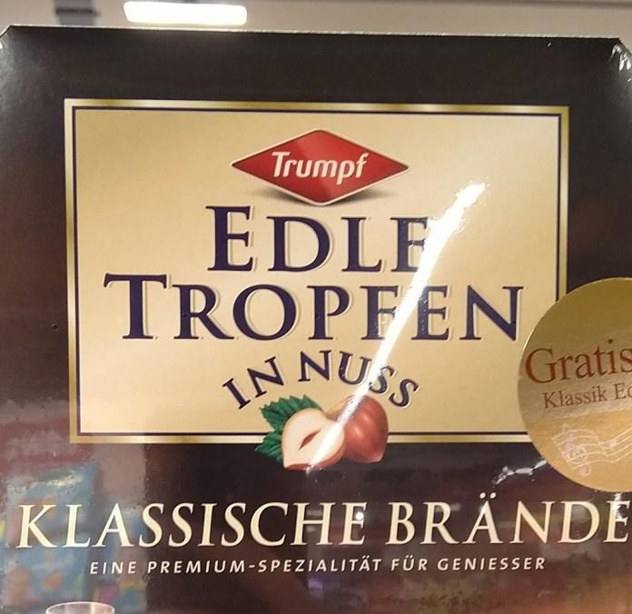 Trumpf Edle Tropfe in Nuss - Edle Klänge Klassik-CD Nr. 18