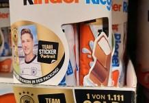 Ferrero Teamsticker Sammel-Aktion: Goldgewinne finden