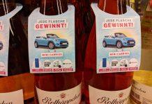 Rotkäppchen: Kassenbon hochladen, Mini Cabrio gewinnen - Sommer on Ice Aktion mit Blanchet und Jules Mumm
