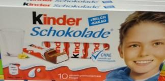 Kinder Schokolade Nationalspieler-Edition: Tischkicker, Fußbälle, Schoko-Pakete gewinnen