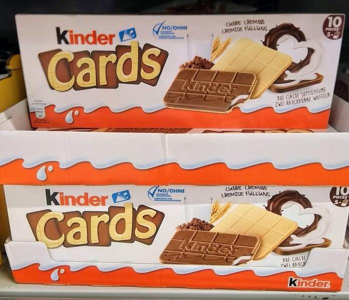 Kinder Cards Gratisprobe sichern