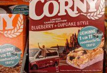 Corny: Roadsurfer Trip gewinnen - Gewinncode eingeben