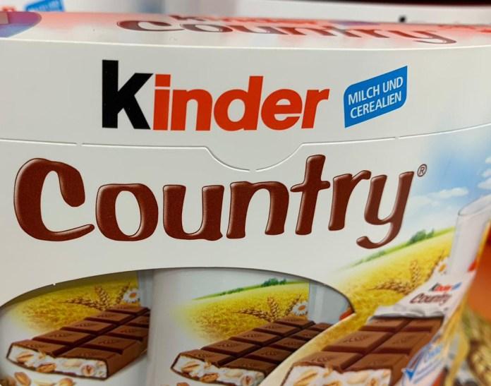 Kinder Country gratis probieren - täglich 1000 Proben gewinnen