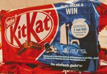KitKat: Playstation 5 Konsole gewinnen - Code eingeben