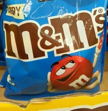 M&Ms: Rewe Einkaufsgutscheine gewinnen - Kassenbon hochladen