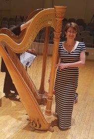 Hana & Harp. Fluids for harp solo by Hana Ajiashvili
