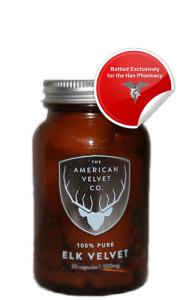 American Velvet Bottle