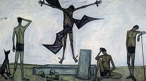 ビュッフェ「キリストの受難:復活」1951年