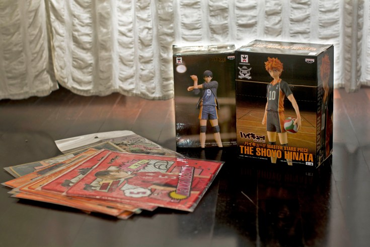 Unboxing: merchandise ufficiale dall'anime Haikyuu!!