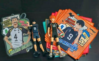 Unboxing: Haikyuu!! merchandise box