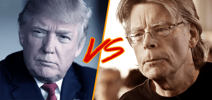 """Stephen King vs Donald Trump su Twitter: """"no clowns for you"""""""