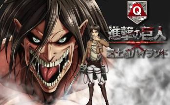 Attack on Titan the Ride: i Giganti di Isayama invadono il parco divertimenti Fuji-Q
