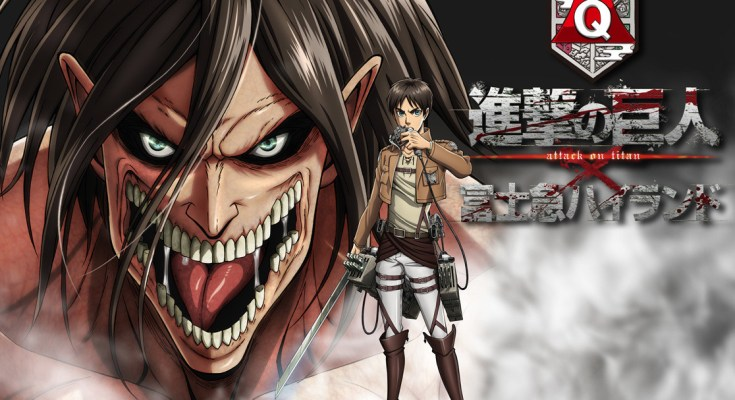Attack on Titan the Ride: i Giganti di Isayama invadono il parco divertimenti Fuji-Q