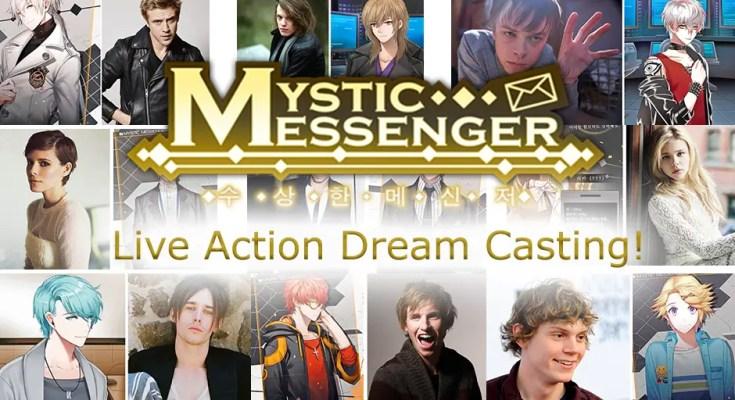 Mystic Messenger live action: our dream casting