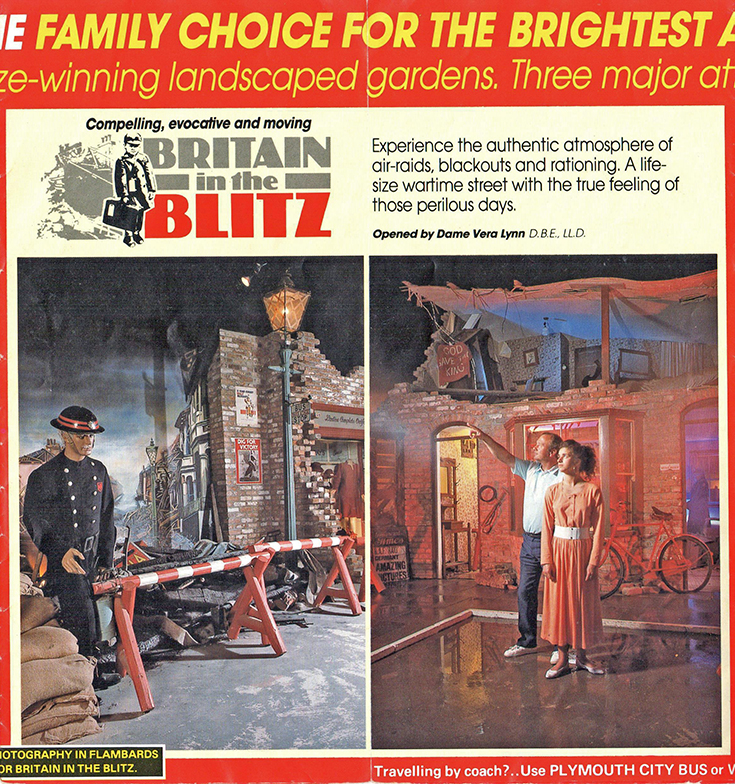 Flambards Theme Park: Vintage Flyer from season 1991