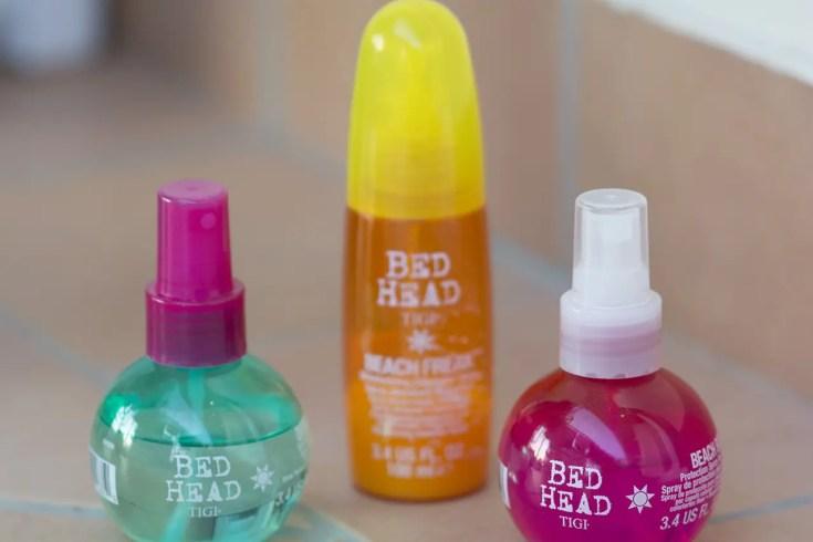 """""""Tigi Bed Head"""" linea """"beach"""", recensione (autentica) sugli spray professionali per capelli in spiaggia"""