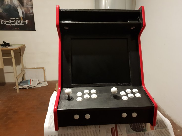 Arcade Bartop with Raspberry Pi & RetroPie DIY tutorial (with pictures) - Part 5 of 6 - Hardware