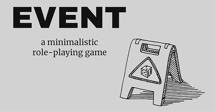 EVENT - A minimalistic Role-Playing Game - Free PDF Download