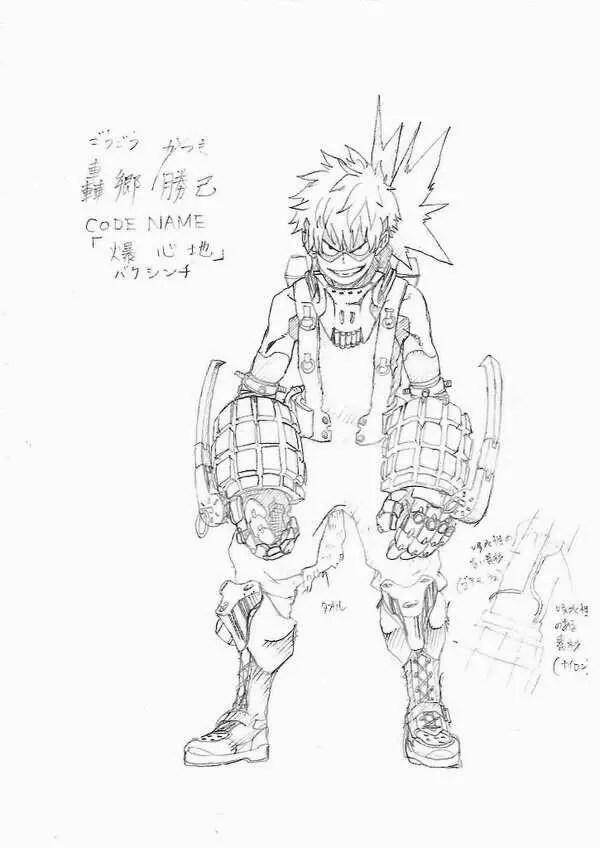 My Hero Academia: Quale sarà il nome da eroe di Bakugou?