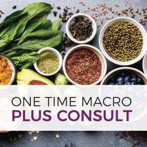 one time macro plus consult