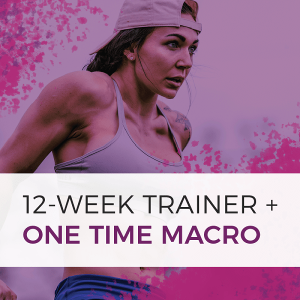 12 week trainer plus macro product