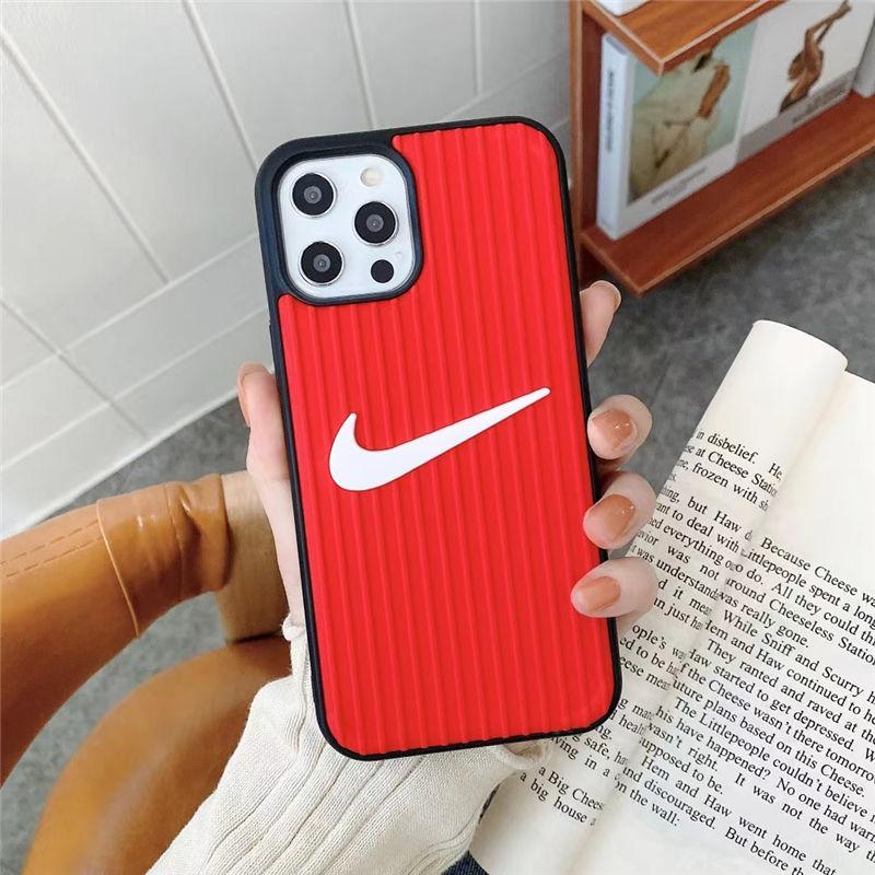 ナイキロゴ iphoneケース シリコン NIKE iphone12mini/11pro maxケース ペア iphone12promax ケース 耐 衝撃 アイフォン11/xs/xr 携帯カバー ブランド コピー