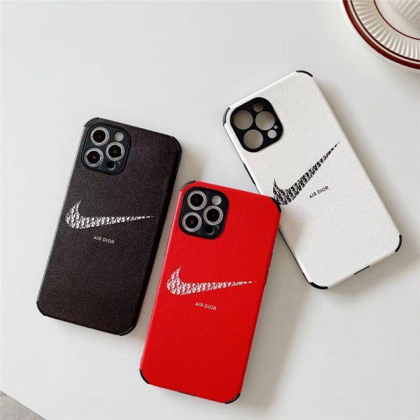 エアー dior iphone12pro max/11proケース ペア ナイキ アイホン12mini/xs max 携帯カバー お 揃い シンプル iphonexr/x/8plus 保護ケース 丈夫