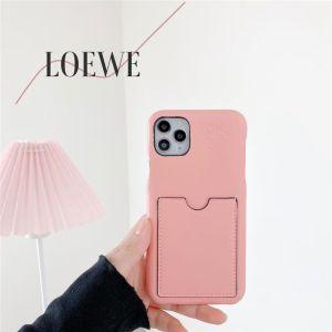 iphone12/12mini ケース カード 収納 LOEWE アイフォン11pro max/11/xsケース 可愛い 韓国 ロエベ iphonexs max/10r/x 携帯ケース 大人 シンプル